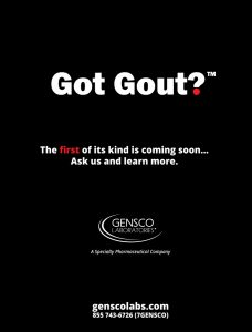 Got Gout Teaser Ad
