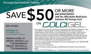 ColciGel Copay Card