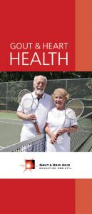 Gout and Heart Health Brochure