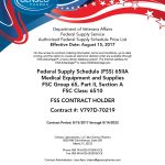 Now Available Through Federal Supply Schedule (FSS)