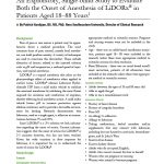 An Exploratory, Single-blind Study to Evaluate Both the Onset of Anesthesia of LiDORx® in Patients Aged 18–88 Years